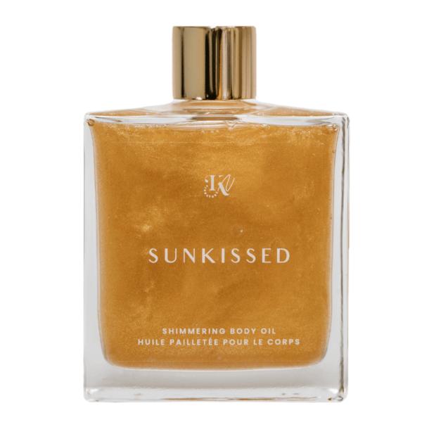 Sunkissed L'huile pailletée dorée de Kamila KN signature